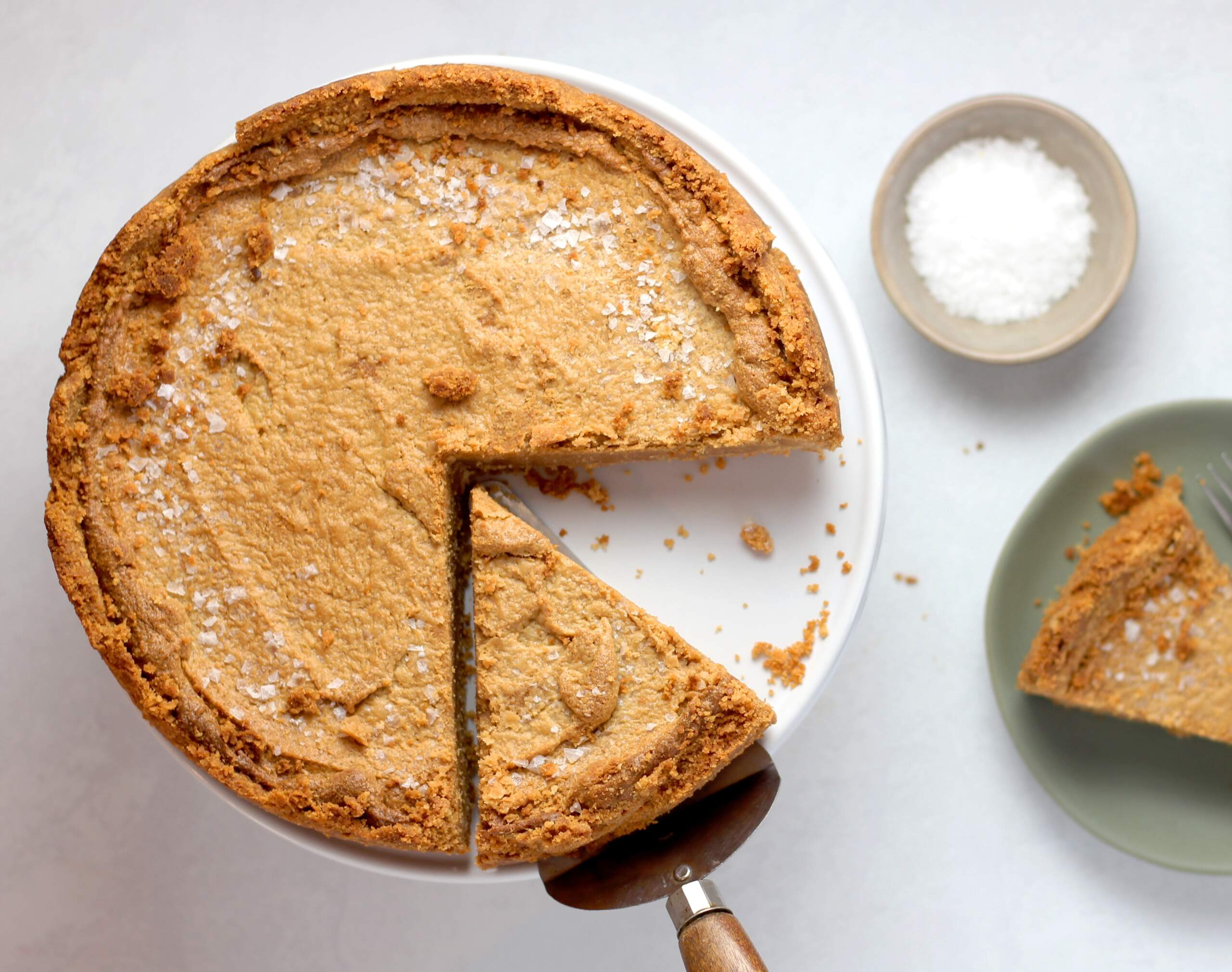 Image of pie with one slice cut out. Representation of inventory management needs.